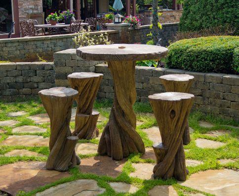 Bayan Hi Top Table Set