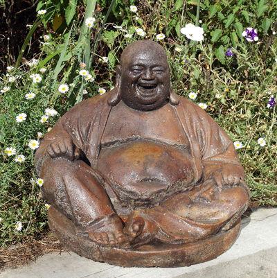 Umber Laughing Buddha