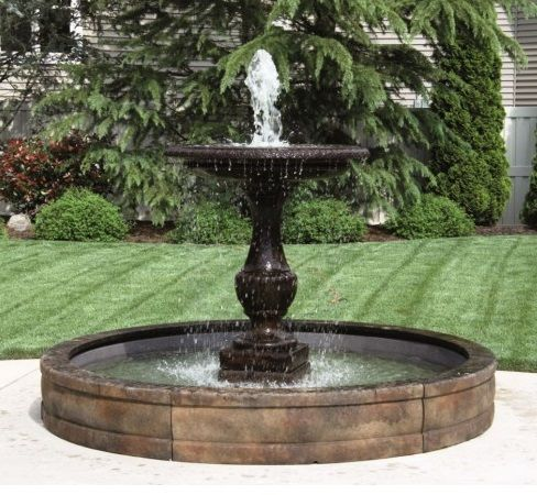 One Tier Savona Fountain