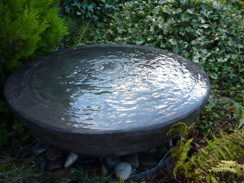 Black Limestone Bowl