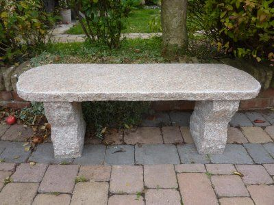 Pink Rustic Bench