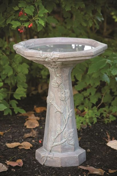 Large Vine Bird Bath