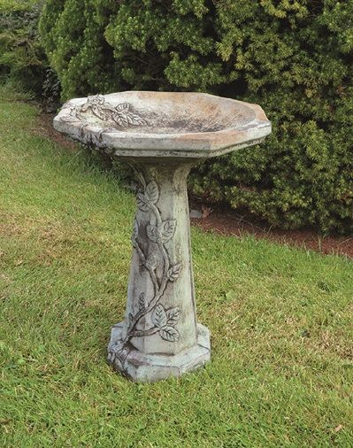 Everglade Vine Bird Bath