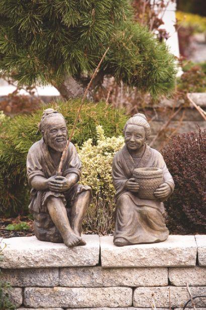 Sitting Oriental Couple