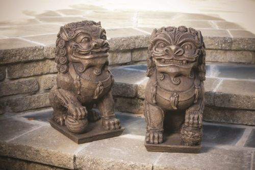 Large Foo Dog Pair