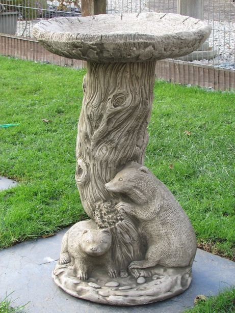 Badger Bird Bath