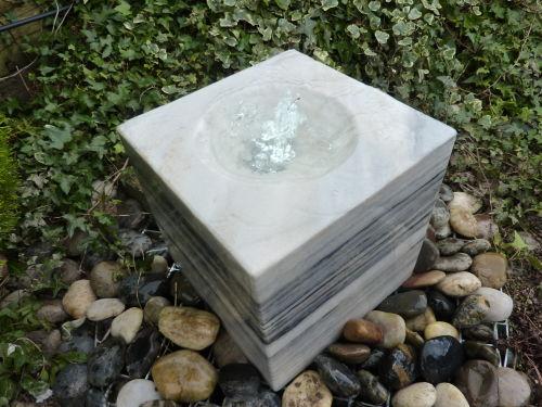 Marble Cube Fountain