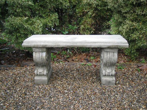 Straight Scroll Bench