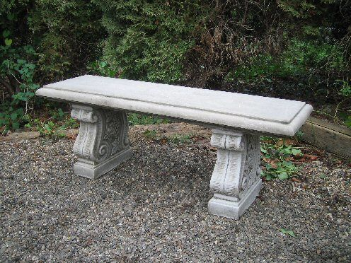 Straight Classical Bench