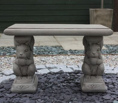 Mini Squirrel Bench