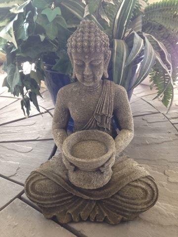 Candle Buddha