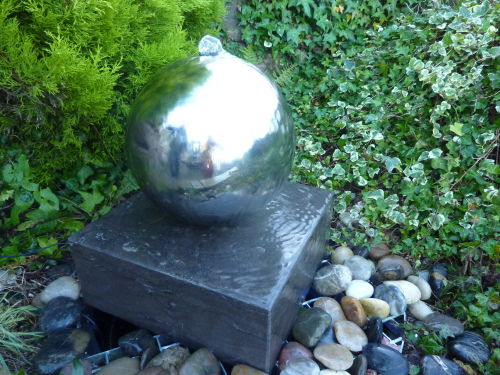 Basalt Cube Fountain