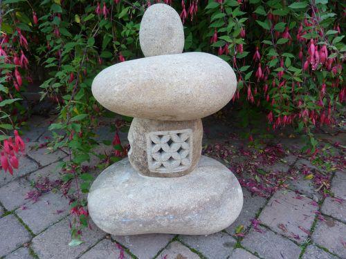 Natural Pebble Lantern