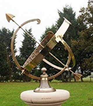 Medium Brass Armillary