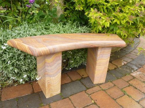 Simple Curved Bench