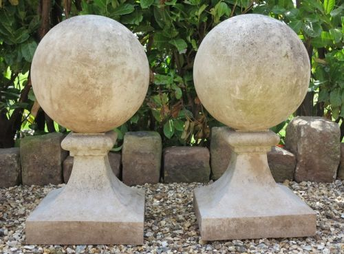 Pair of Ball Finials