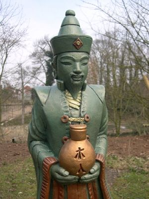 Japenese Male Statue