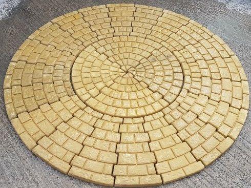 Stone Cobble Circle