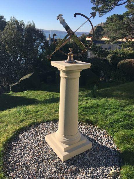 Column with Armillary
