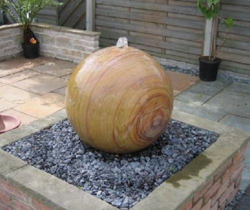 Sandstone Sphere - 40cm
