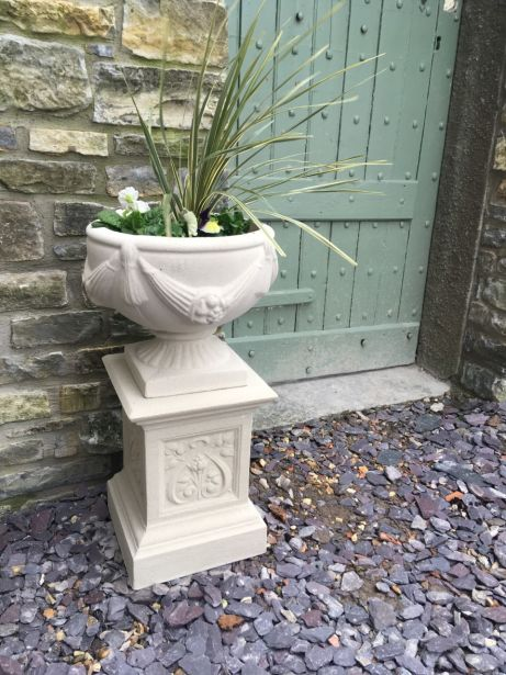 Buckingham Urn & French Pedestal
