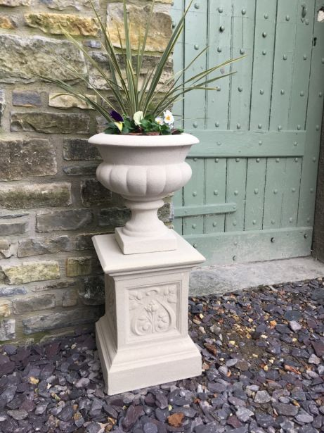 Italian Urn on French Pedestal