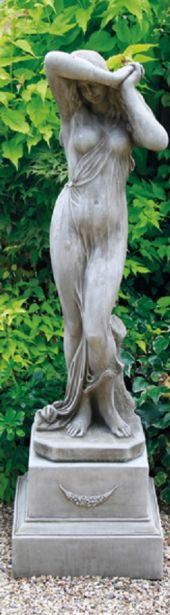 Shy Girl on Plinth