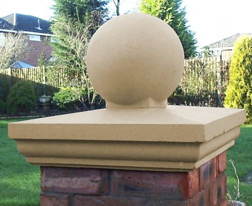 Pier Cap & Ball - 35cm