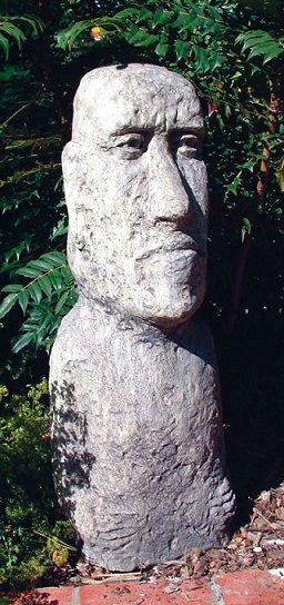 Large Moai Head
