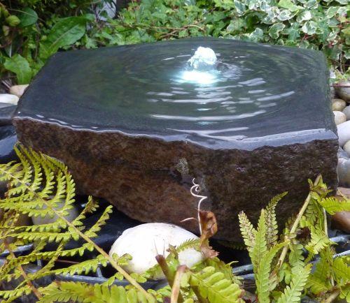 Babbling Basalt Fountain