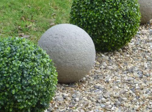 Vintage Stone Ball - 33cm