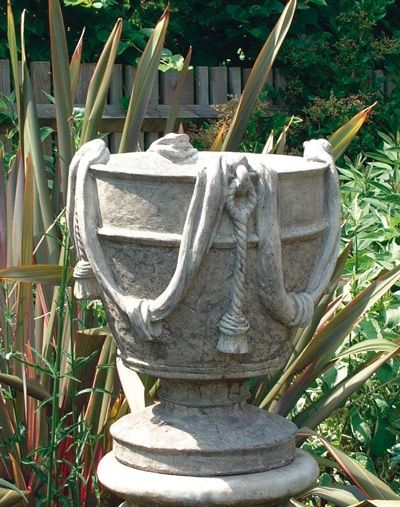 Tasselled Vase