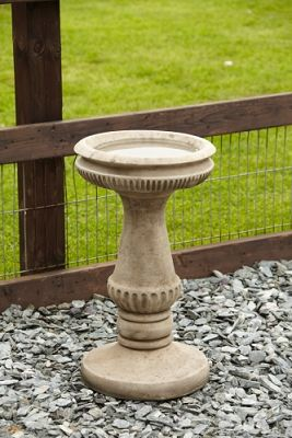 Fluted Bird Bath