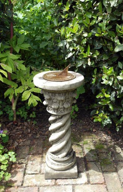 Roman Aged Brass Sundial