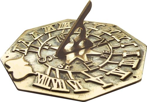 Large Octagonal Sundial