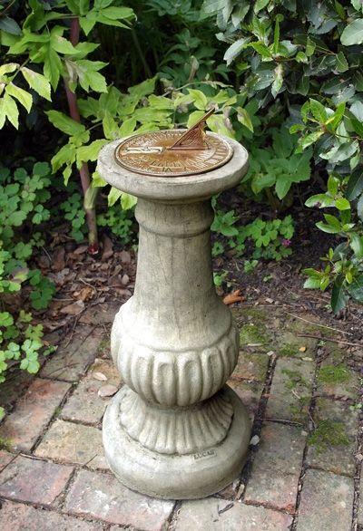 Victorian Aged Brass Sundial