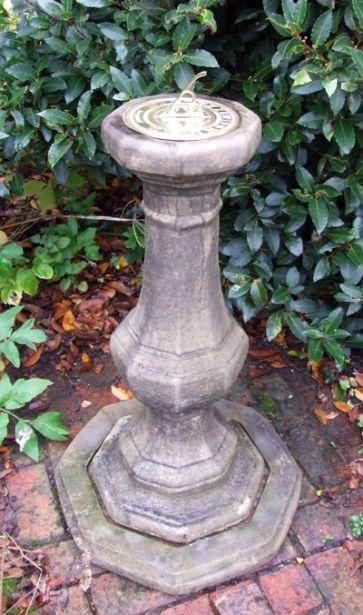Pedestal Brass Sundial