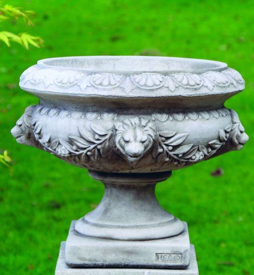 Lion Urn
