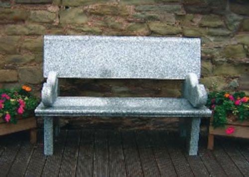 Kingston Bench Grey