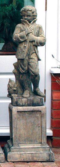 Traditional Season Winter Statue