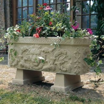 Stone Garden Planters And Troughs Garden troughs tor stone windsor trough workwithnaturefo