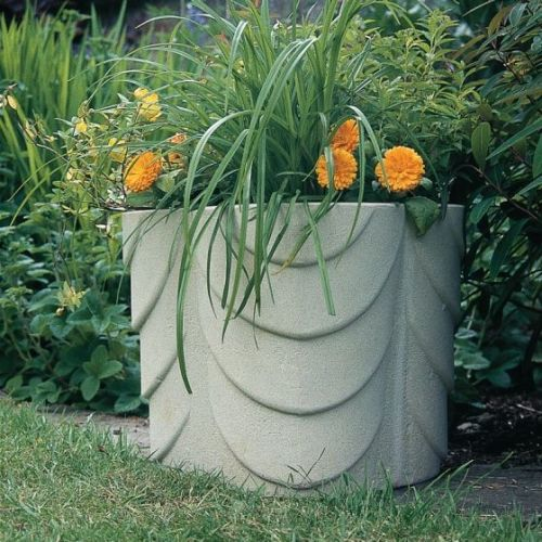 Large Ribboned Planter