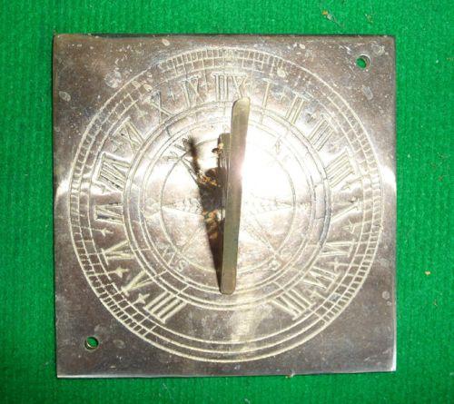 Square Brass