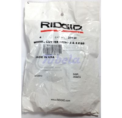 Ridgid F-229S Cutting Wheels for Stainless Steel