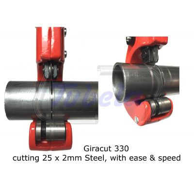 The Giracut 330 3-30mm Tube Cutter