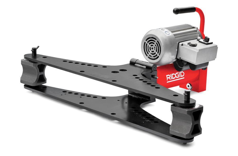 Hydraulic Pipe Bending Machines : Ridgid pipe bending machines from tubela the home