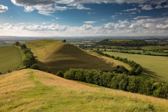 View of Cadbury Castle by Discover South Somerset