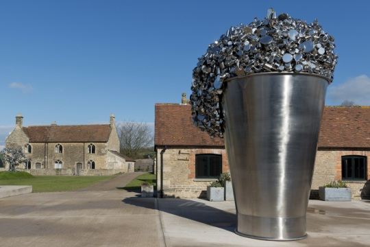 External shot of sculpture, image supplied by Hauser and Wirth Gallery