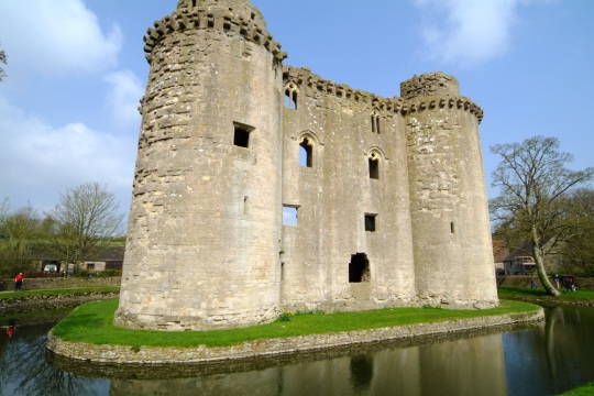 Nunney Castle, image from Visit Somerset Library