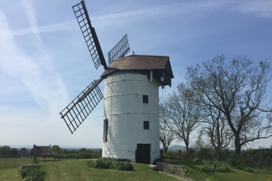 Ashton Windmill, image by Vicky Banham for Visit Somerset